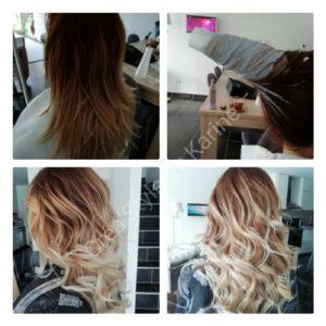 ombré hair - agde - coiffure a domicile - ombré hair cones